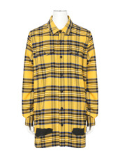 Off White DIAG SPRAY CHECK SHIRT