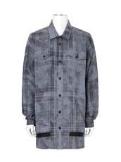 Off White LINEN CHECK SHIRT