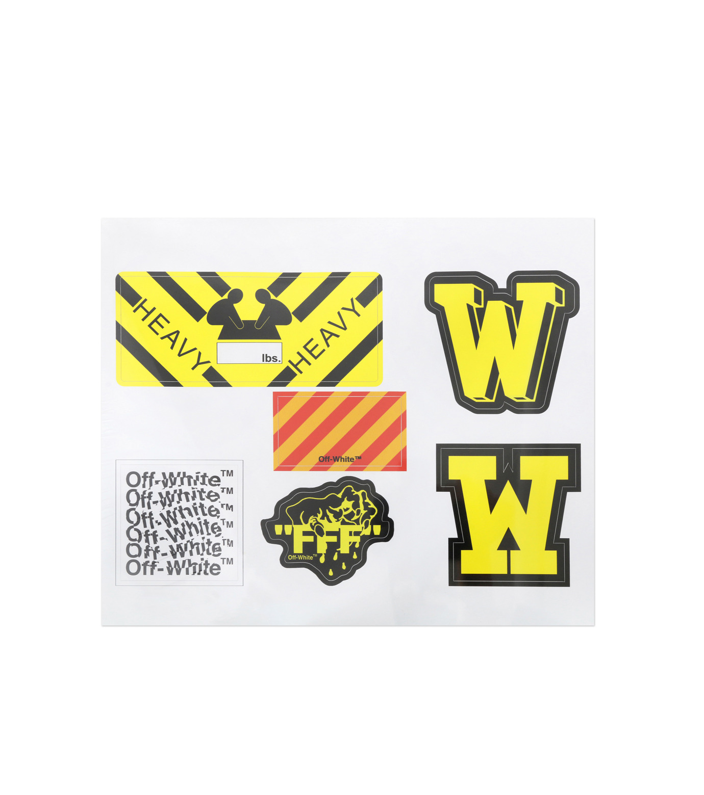 Off White(オフホワイト)のSTICKER-WHITE(アザーズ/others)-001S7408123-4 拡大詳細画像1
