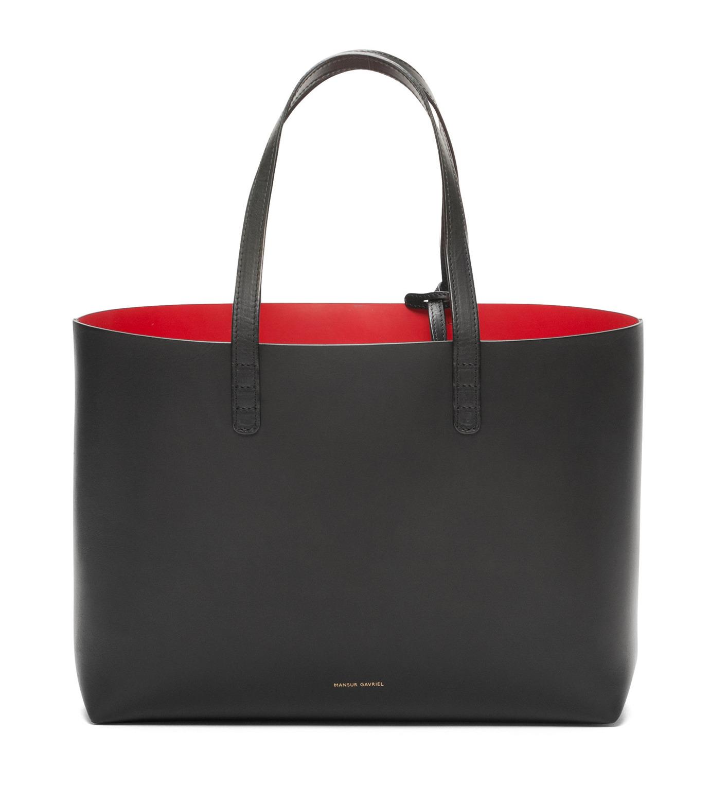 Mansur Gavriel(マンサーガブリエル)のSmall Tote-BLACK(バッグ/bag)-002A-13 拡大詳細画像1