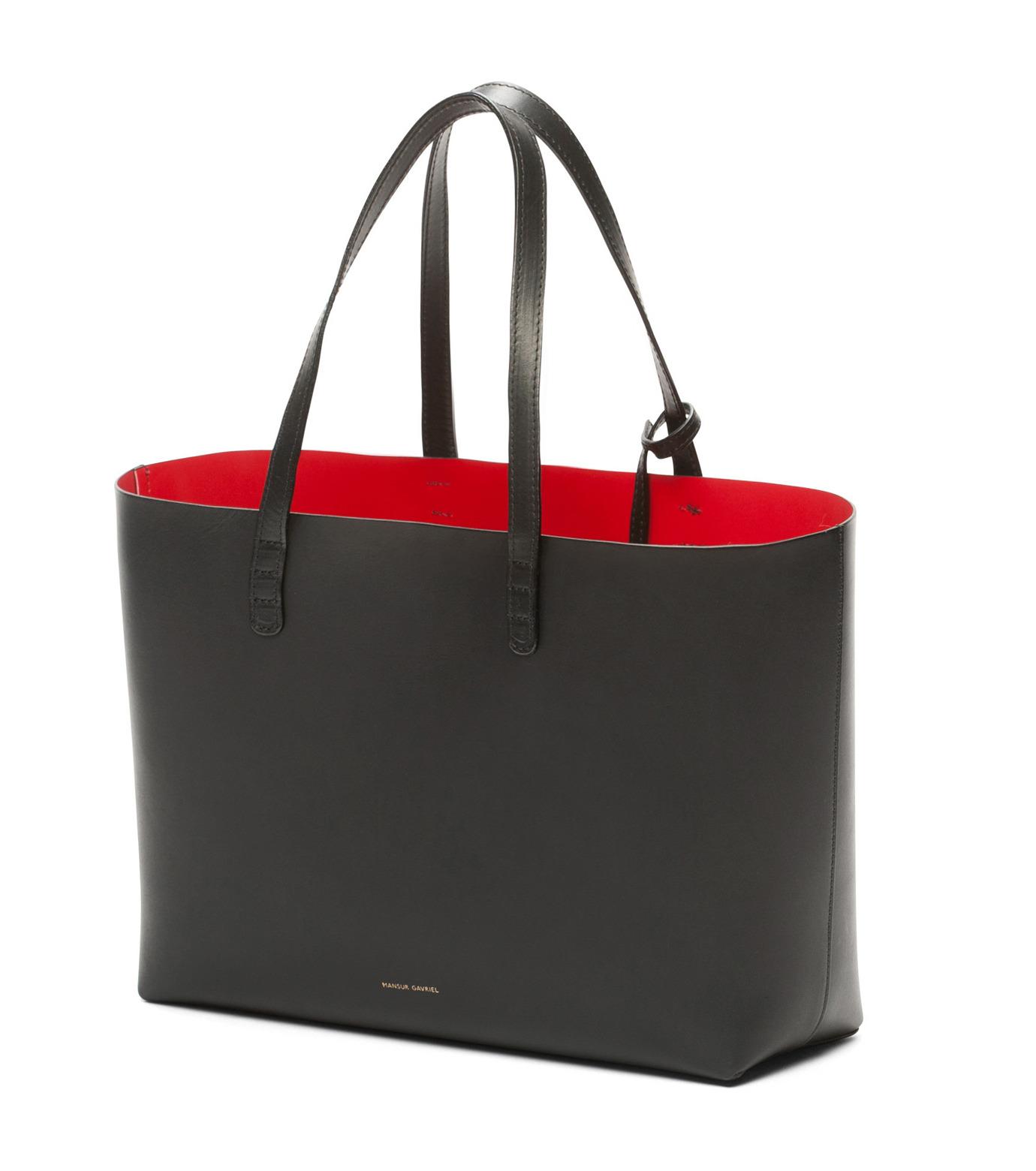 Mansur Gavriel(マンサーガブリエル)のSmall Tote-BLACK(バッグ/bag)-002A-13 拡大詳細画像2