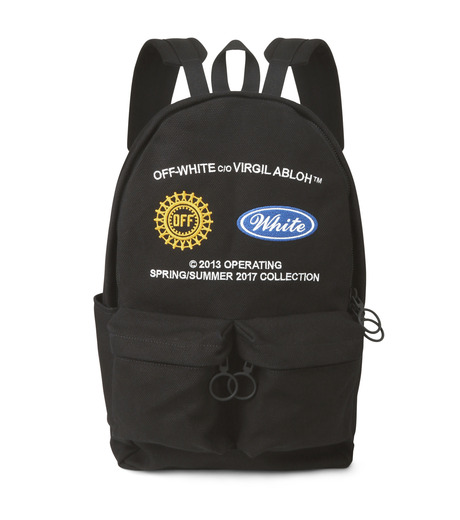 Off White(オフホワイト)のWORK BACKPACK-BLACK(バックパック/backpack)-003S7108075-13 詳細画像1
