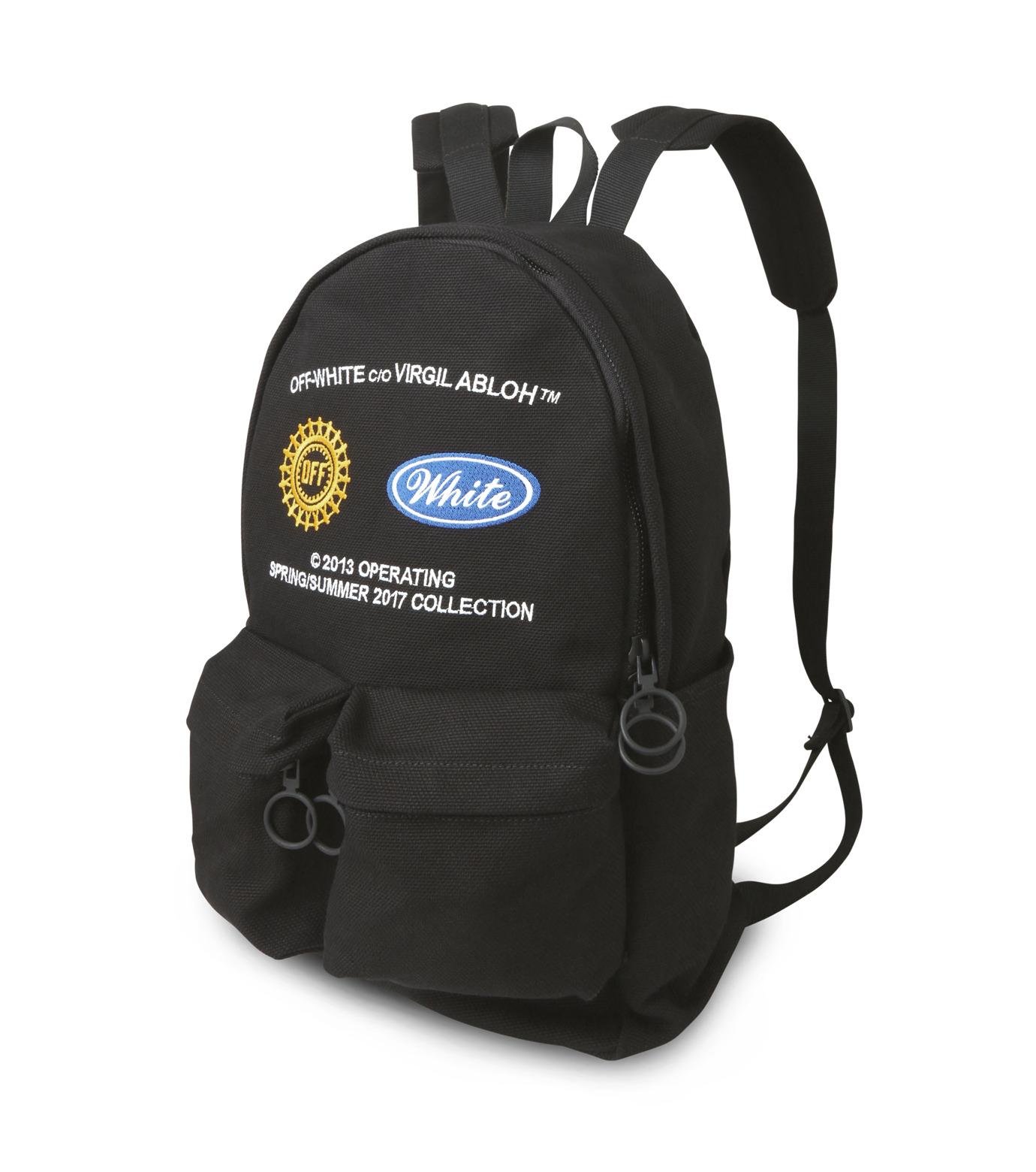 Off White(オフホワイト)のWORK BACKPACK-BLACK(バックパック/backpack)-003S7108075-13 拡大詳細画像2