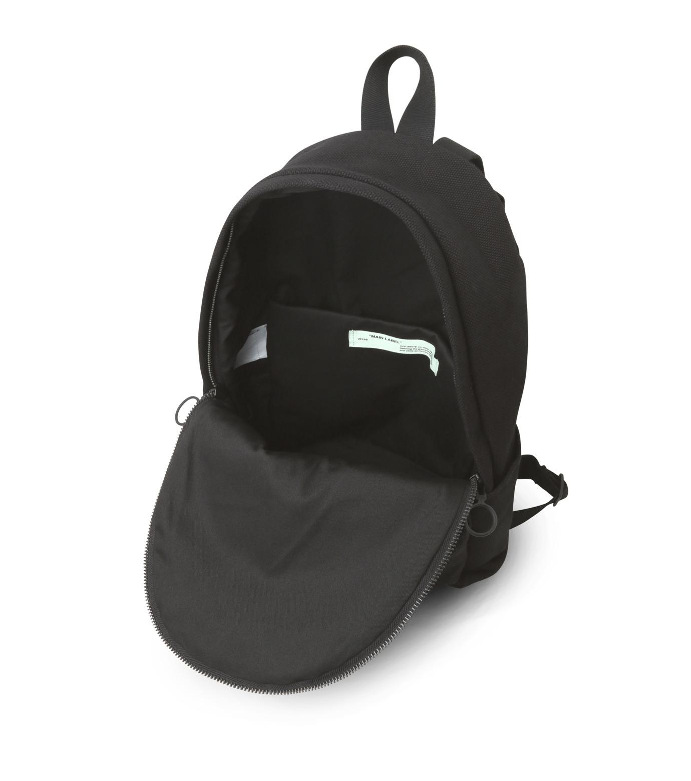 Off White(オフホワイト)のWORK BACKPACK-BLACK(バックパック/backpack)-003S7108075-13 拡大詳細画像4