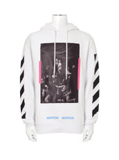 Off White(オフホワイト) DIAG CARAVAGGIO HOODIE