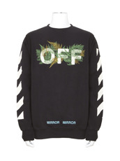 Off White(オフホワイト) DIAG FERNS CREWNECK