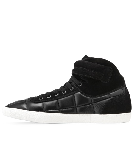 Moncler Gamme Bleu(モンクレールガムブルー)のLeather sneaker-BLACK-00415-00-13 詳細画像2