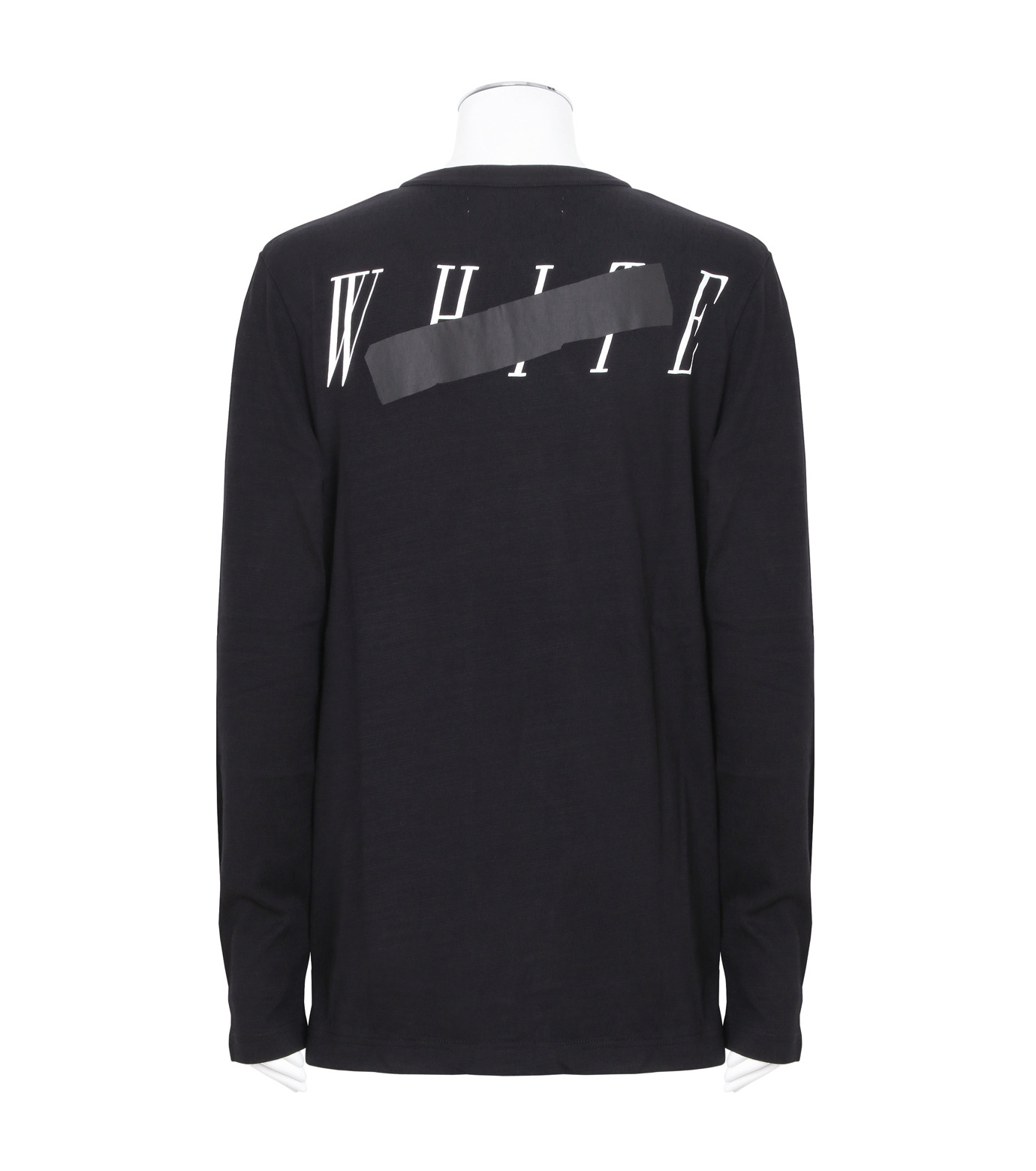Off White(オフホワイト)のROCK MIRROR LONGSLEEVE-BLACK(カットソー/cut and sewn)-006S7001133-13 拡大詳細画像2