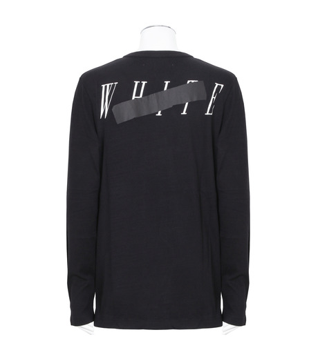Off White(オフホワイト)のROCK MIRROR LONGSLEEVE-BLACK(カットソー/cut and sewn)-006S7001133-13 詳細画像2