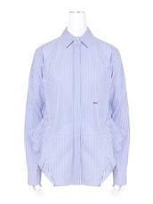 Off White(オフホワイト) Back Ruffle Striped Shirt