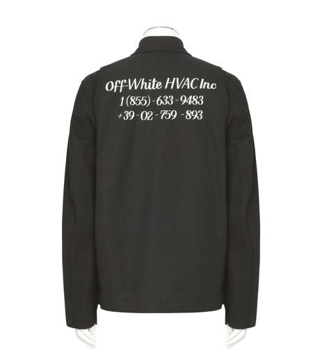 Off White(オフホワイト)のWORK JACKET-BLACK(ブルゾン/blouson)-056S7206021-13 詳細画像2