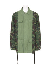 Off White(オフホワイト) FIELD JACKET OVERDYED CAMOU