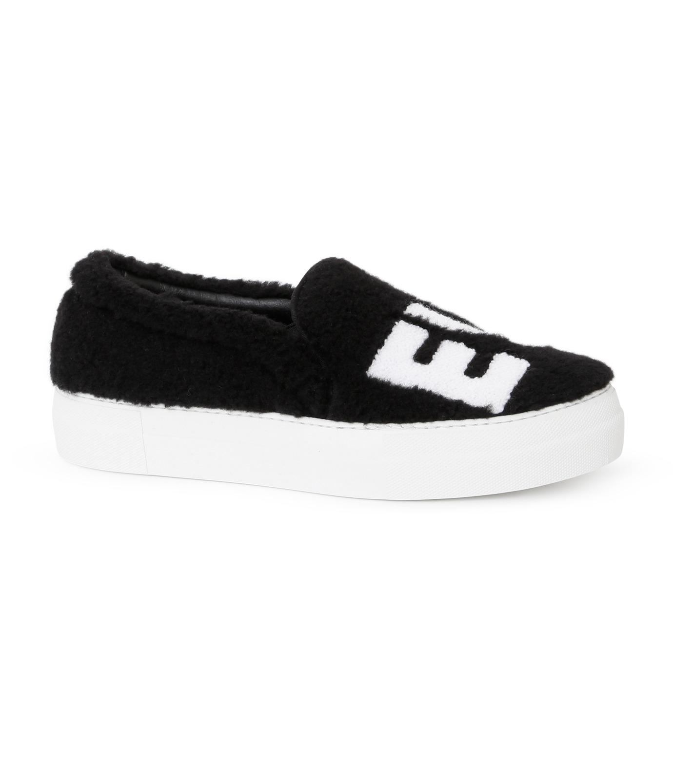 Joshua SANDERS(ジョシュア・サンダース)のSlip On Black Ever-BLACK(スニーカー/sneaker)-10078S-13 拡大詳細画像1