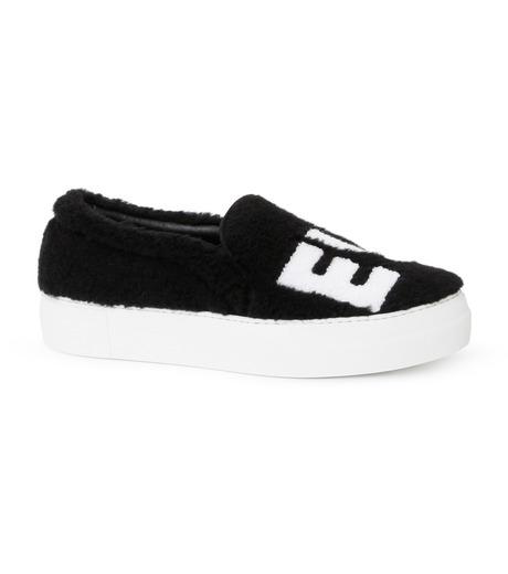 Joshua SANDERS(ジョシュア・サンダース)のSlip On Black Ever-BLACK(スニーカー/sneaker)-10078S-13 詳細画像1