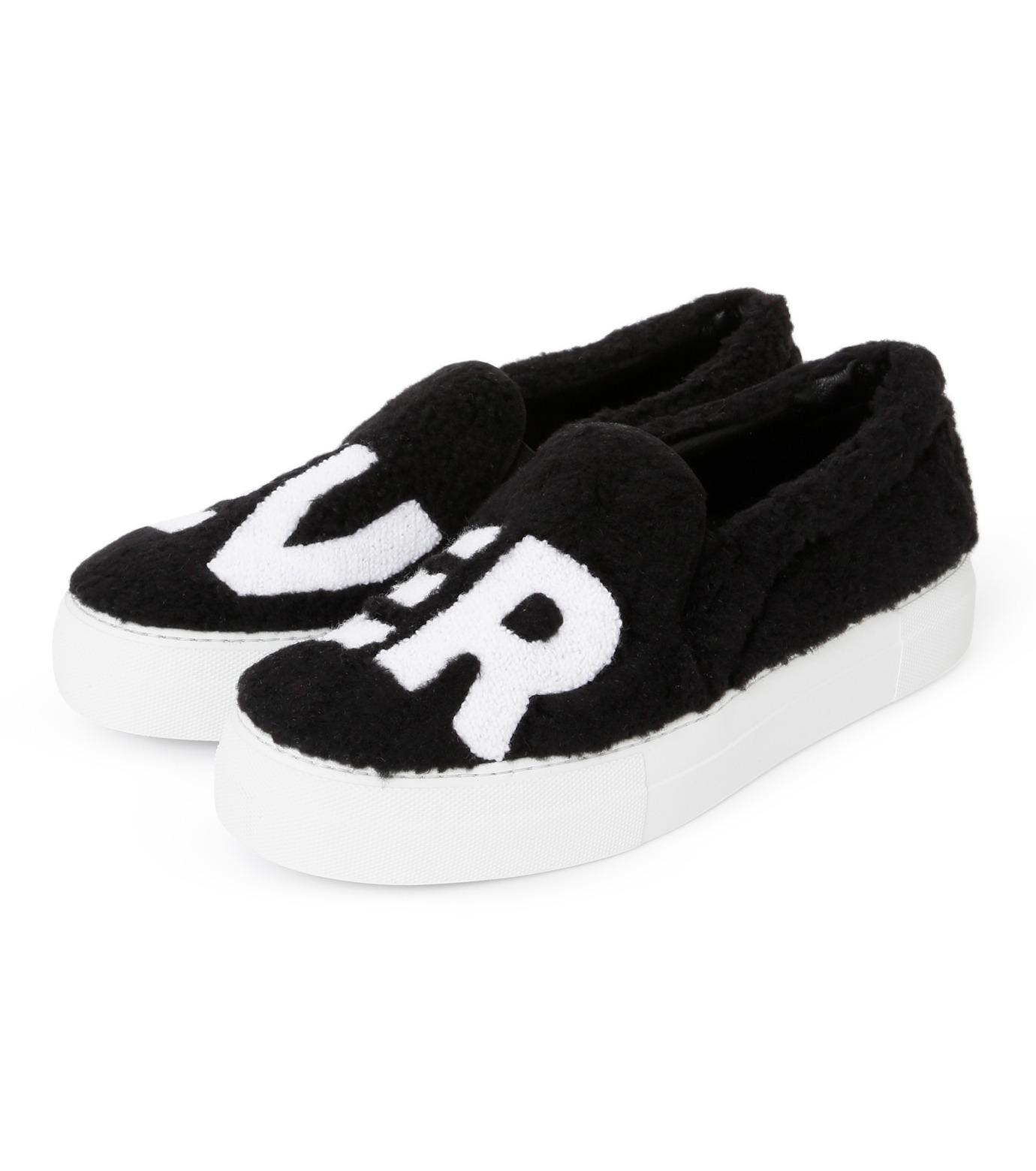 Joshua SANDERS(ジョシュア・サンダース)のSlip On Black Ever-BLACK(スニーカー/sneaker)-10078S-13 拡大詳細画像2