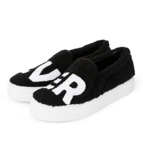 Joshua SANDERS(ジョシュア・サンダース)のSlip On Black Ever-BLACK(スニーカー/sneaker)-10078S-13 詳細画像2