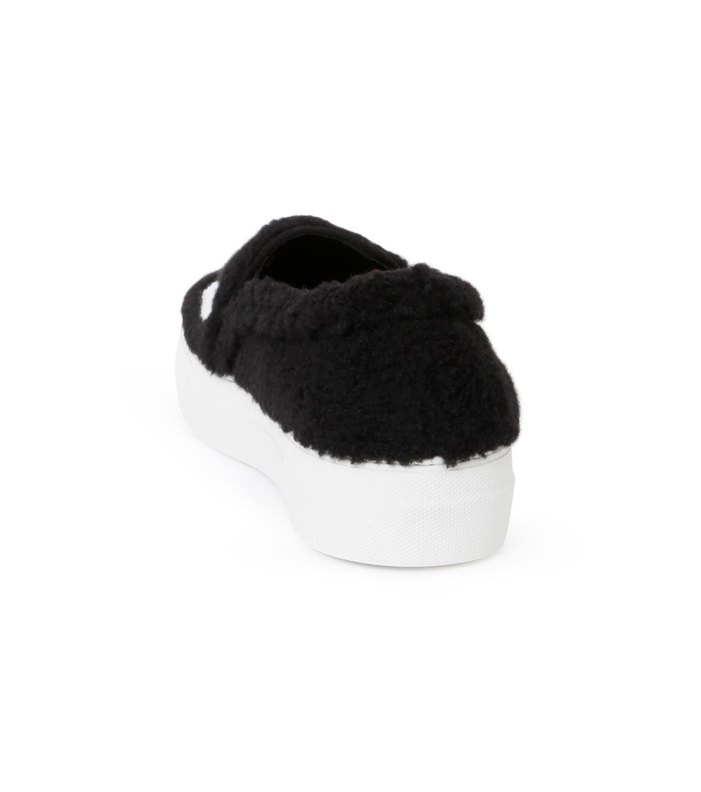 Joshua SANDERS(ジョシュア・サンダース)のSlip On Black Ever-BLACK(スニーカー/sneaker)-10078S-13 拡大詳細画像3