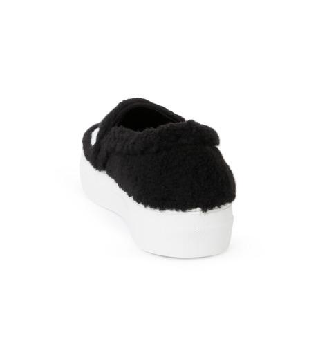 Joshua SANDERS(ジョシュア・サンダース)のSlip On Black Ever-BLACK(スニーカー/sneaker)-10078S-13 詳細画像3
