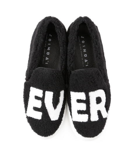 Joshua SANDERS(ジョシュア・サンダース)のSlip On Black Ever-BLACK(スニーカー/sneaker)-10078S-13 詳細画像4