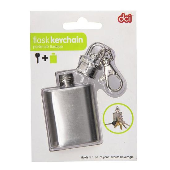 DCI(ディーシーアイ)のMini Flask Keychain-SILVER(インテリア/interior)-10163-1 詳細画像4
