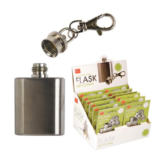 DCI(ディーシーアイ)のMini Flask Keychain-SILVER(インテリア/interior)-10163-1 詳細画像5