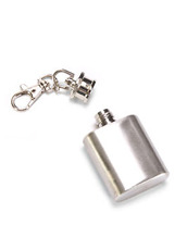 DCI Mini Flask Keychain