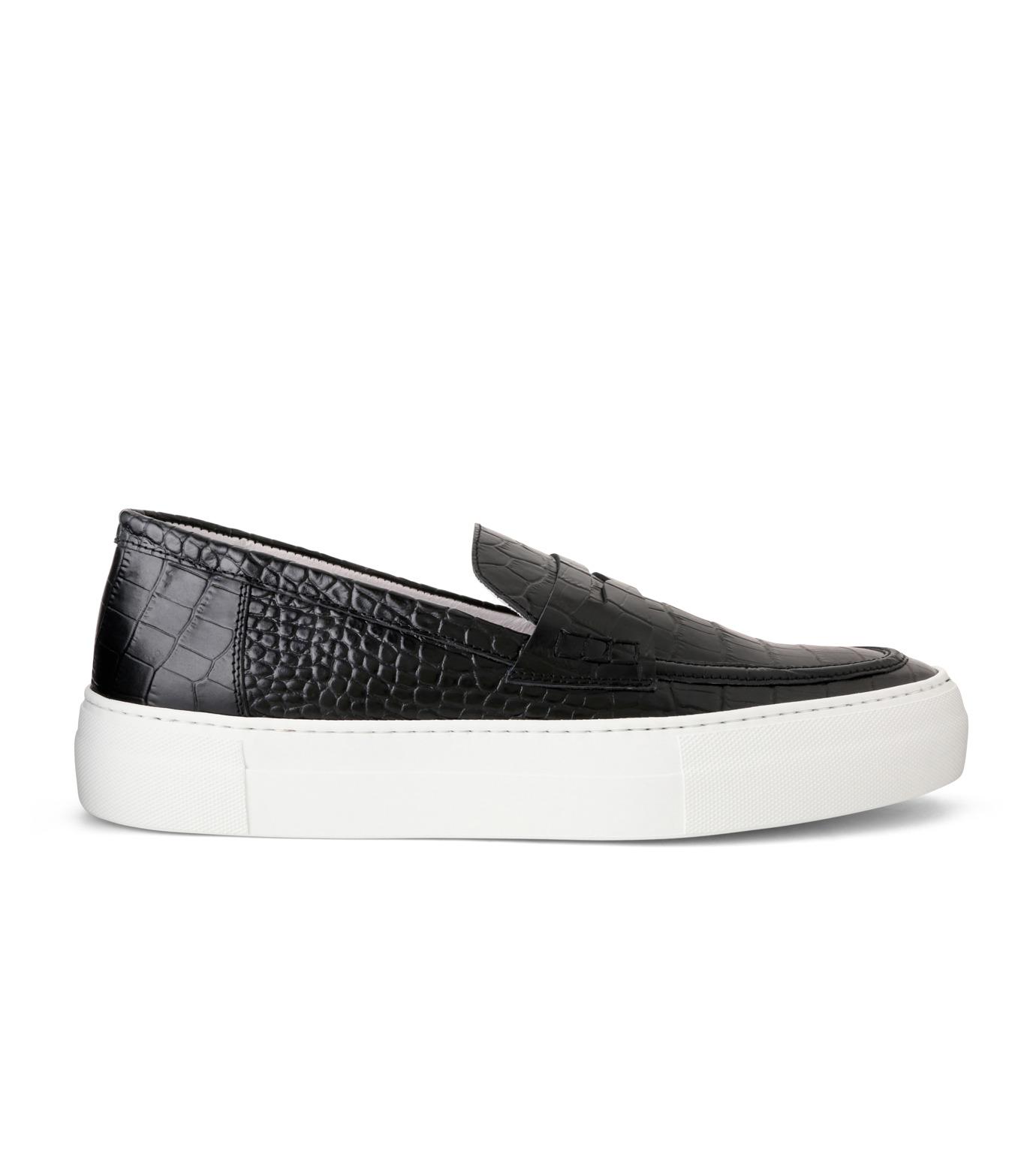 Joshua SANDERS(ジョシュア・サンダース)のBlack Cocco-BLACK(スニーカー/sneaker)-10185-13 拡大詳細画像1