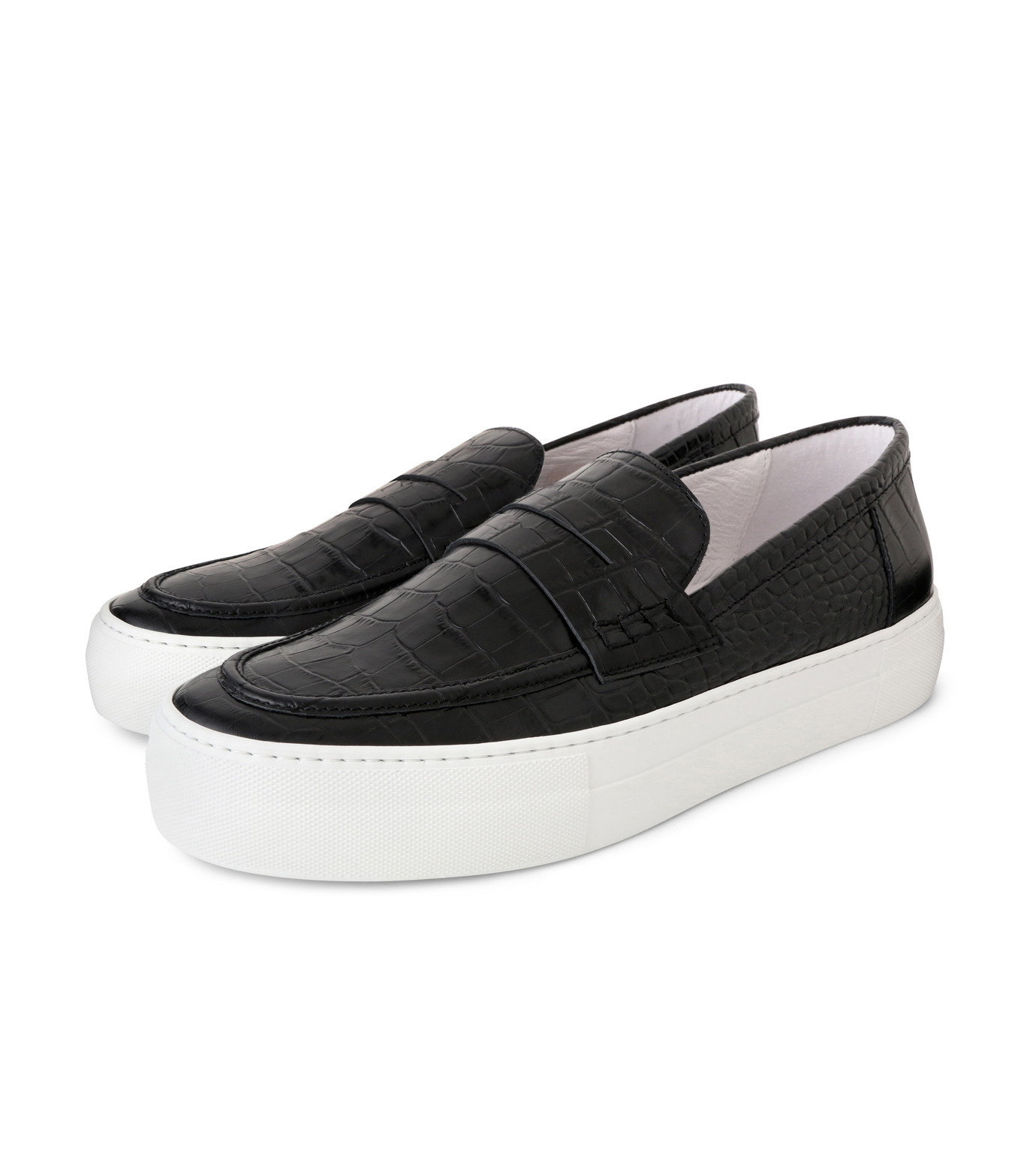 Joshua SANDERS(ジョシュア・サンダース)のBlack Cocco-BLACK(スニーカー/sneaker)-10185-13 拡大詳細画像3