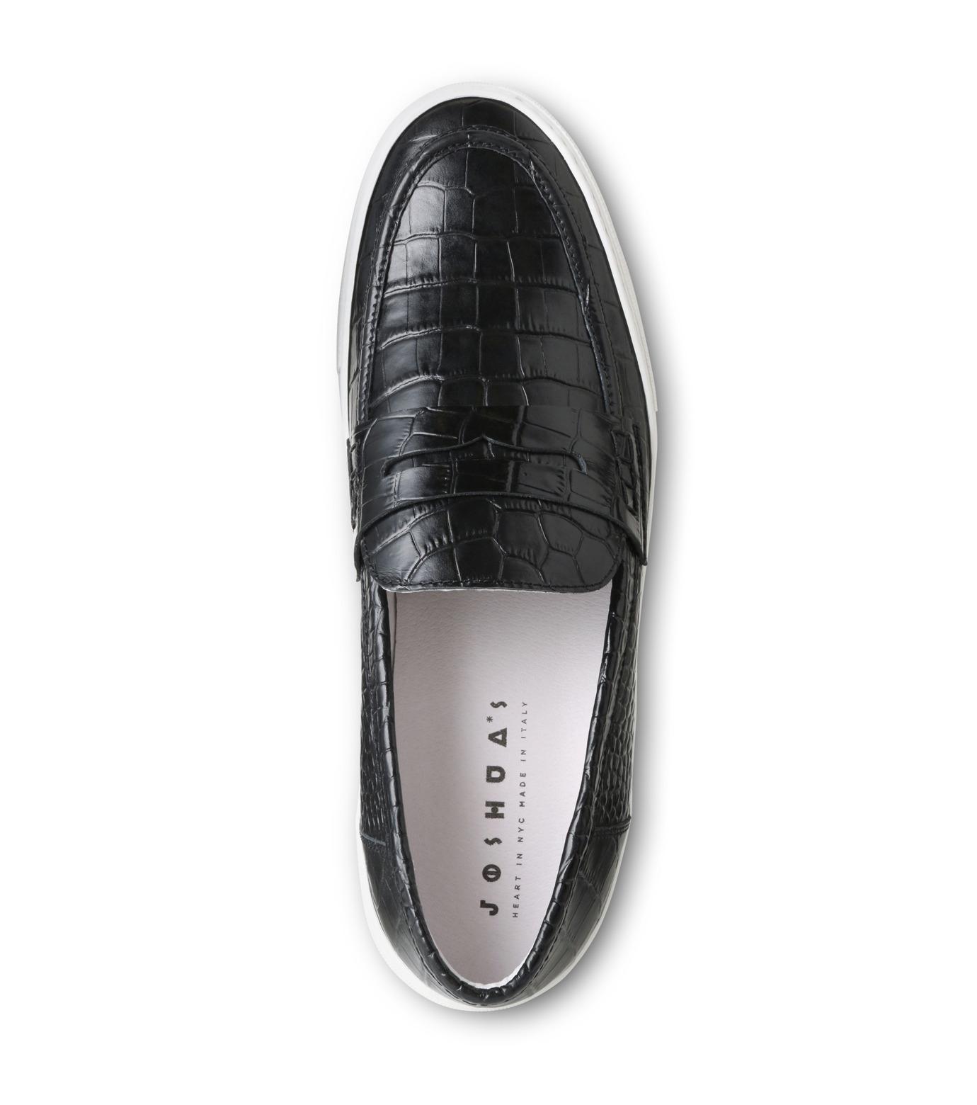 Joshua SANDERS(ジョシュア・サンダース)のBlack Cocco-BLACK(スニーカー/sneaker)-10185-13 拡大詳細画像4