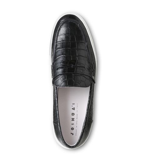 Joshua SANDERS(ジョシュア・サンダース)のBlack Cocco-BLACK(スニーカー/sneaker)-10185-13 詳細画像4
