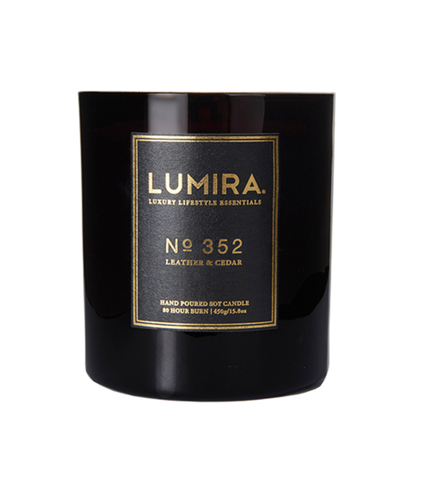 LUMIRA(ルミラ)のDestination Candle No.352 Leather &-BLACK(キャンドル/candle)-103-CA-004-13 拡大詳細画像1