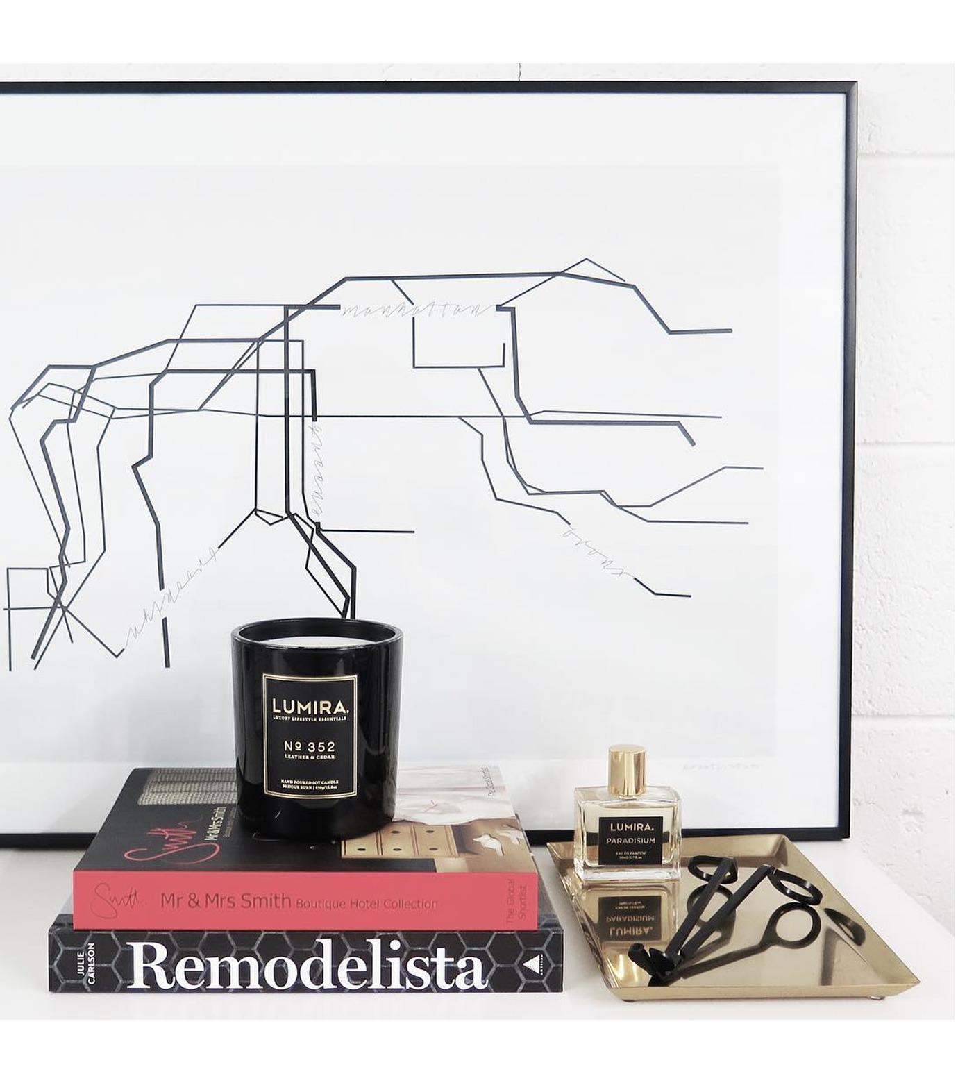 LUMIRA(ルミラ)のDestination Candle No.352 Leather &-BLACK(キャンドル/candle)-103-CA-004-13 拡大詳細画像3