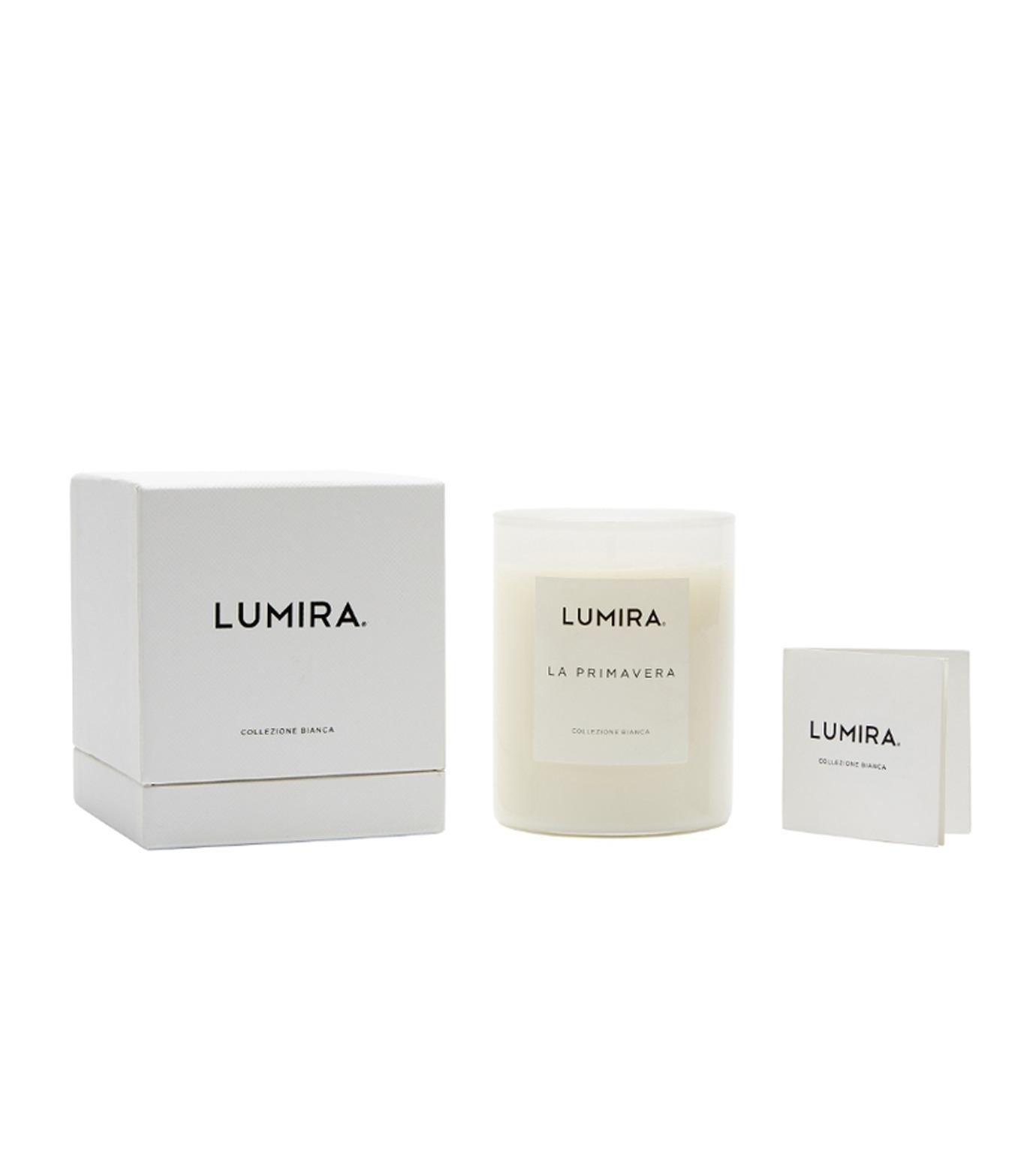 LUMIRA(ルミラ)のCollezione Bianca La Primavera-WHITE(キャンドル/candle)-103-CA-021-4 拡大詳細画像2