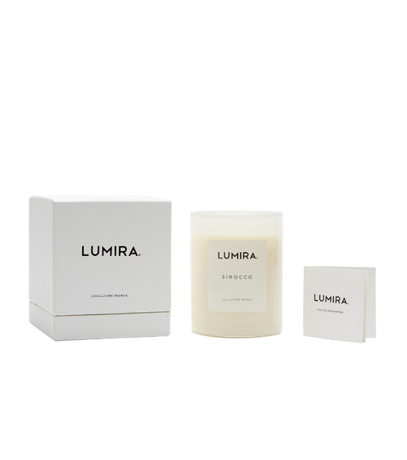 LUMIRA(ルミラ)のCollezione Bianca Sirocco-WHITE(キャンドル/candle)-103-CA-022-4 拡大詳細画像2