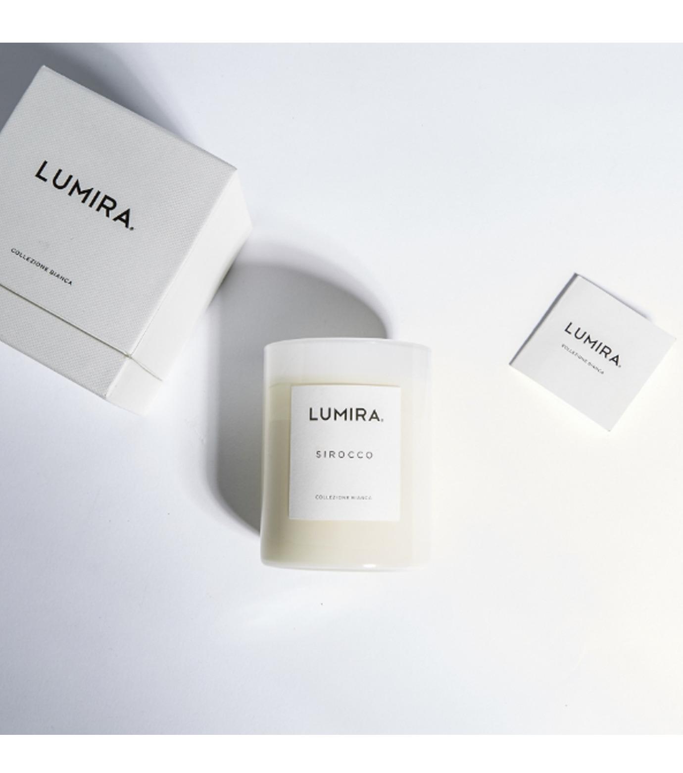 LUMIRA(ルミラ)のCollezione Bianca Sirocco-WHITE(キャンドル/candle)-103-CA-022-4 拡大詳細画像3