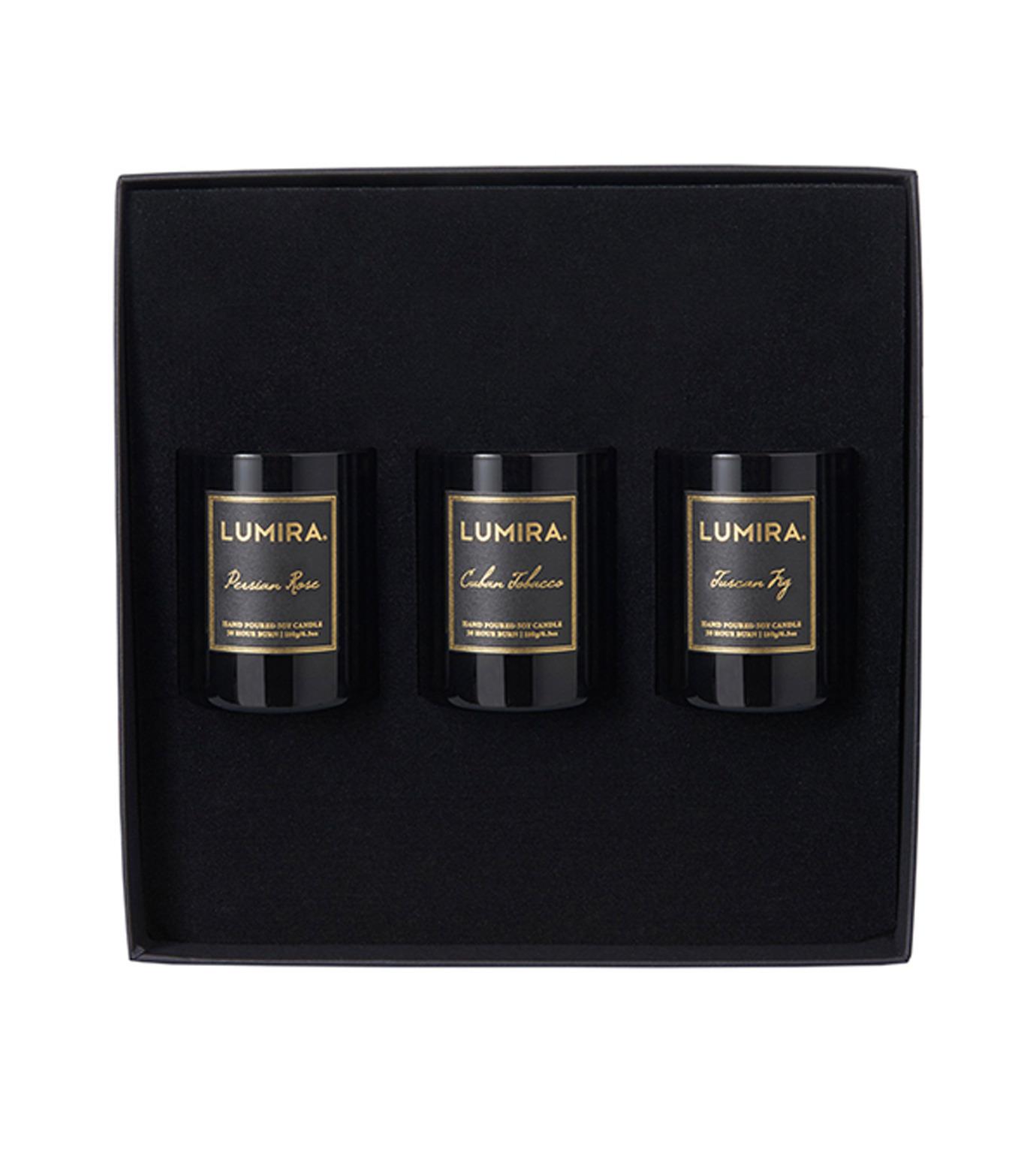 LUMIRA(ルミラ)のMini Destinations Gift Box-BLACK(キャンドル/candle)-103-GB-001-13 拡大詳細画像1