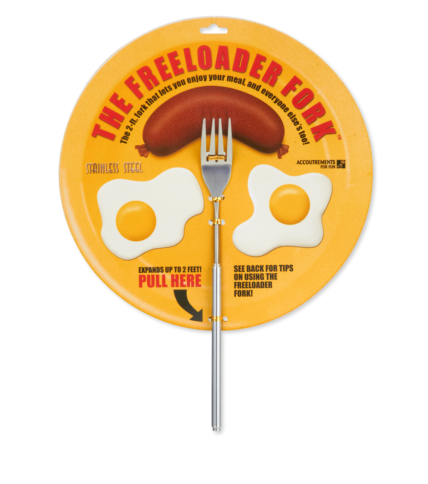 Accoutrements(アクータメンツ)のThe Freeloader Fork-SILVER(OTHER-GOODS/OTHER-GOODS)-10571 拡大詳細画像1