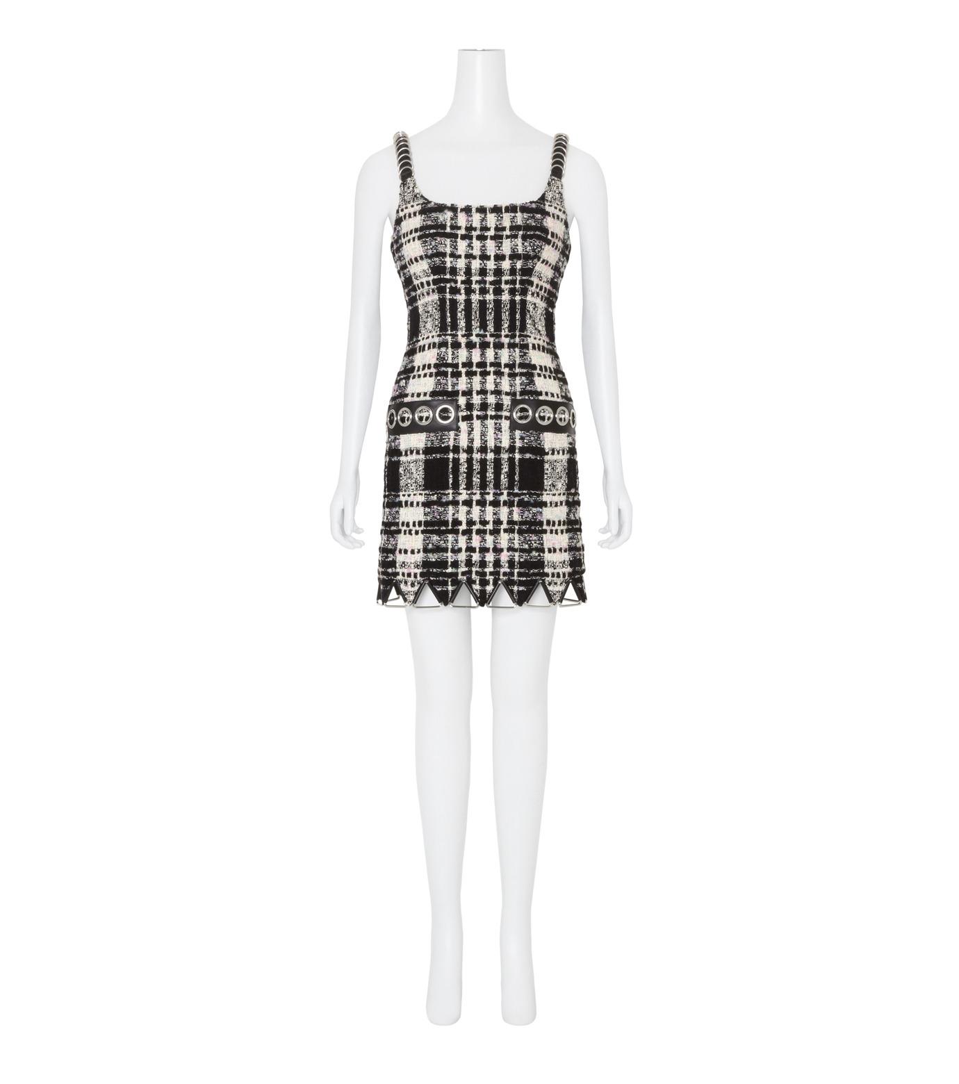 Alexander Wang(アレキサンダーワン)のCami Mini Dress w/Triangle Hardware-BLACK(ワンピース/one piece)-106908F16-13 拡大詳細画像1