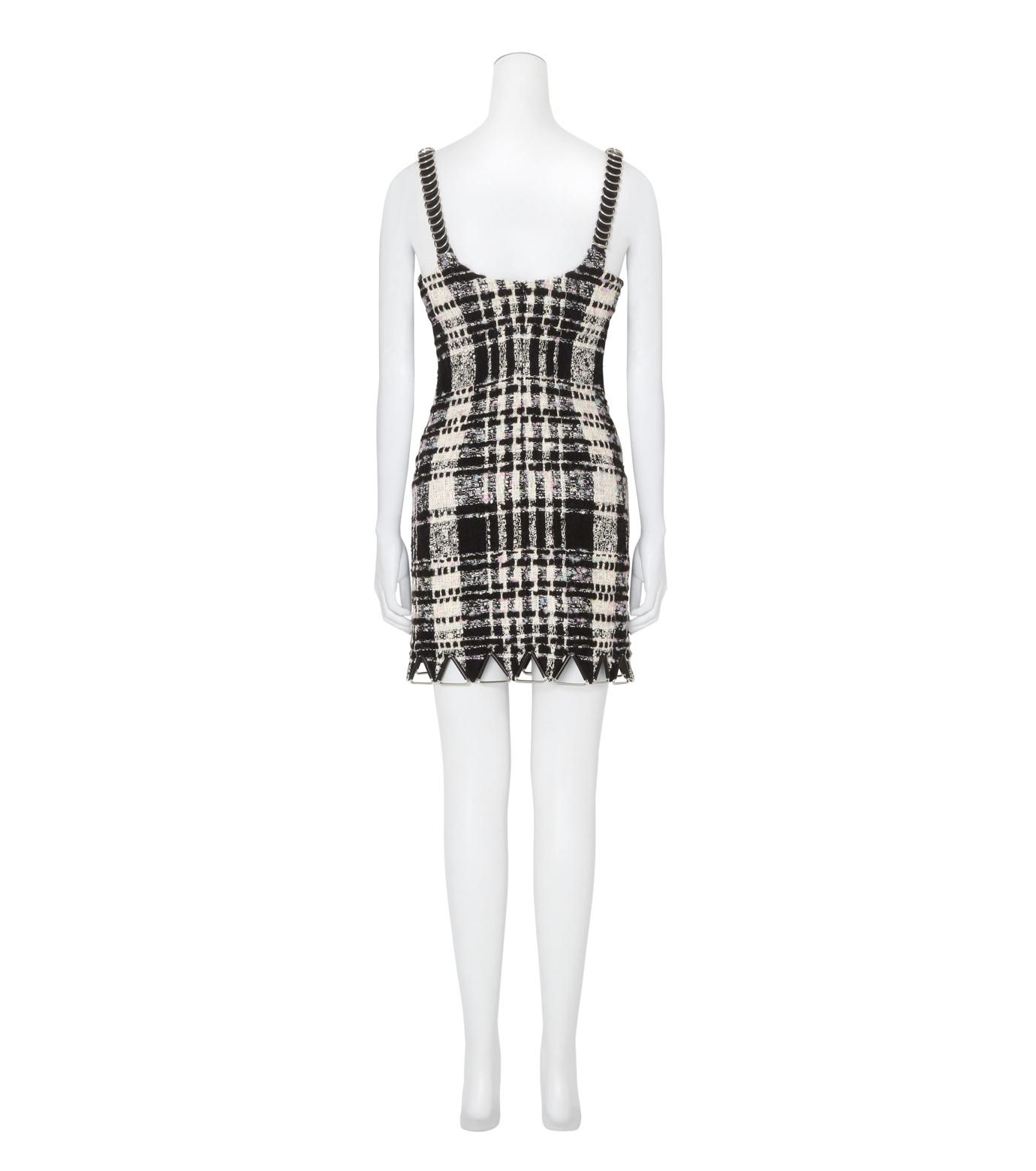Alexander Wang(アレキサンダーワン)のCami Mini Dress w/Triangle Hardware-BLACK(ワンピース/one piece)-106908F16-13 拡大詳細画像2