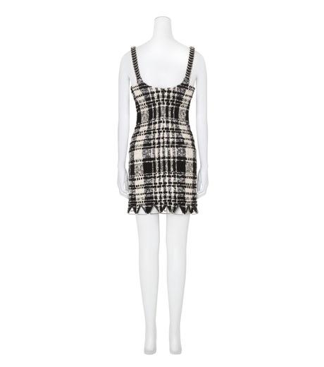Alexander Wang(アレキサンダーワン)のCami Mini Dress w/Triangle Hardware-BLACK(ワンピース/one piece)-106908F16-13 詳細画像2