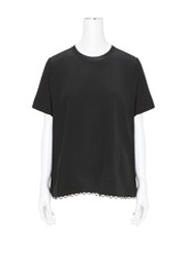 Alexander Wang(アレキサンダーワン) SS Georgette Top w/Cutout Back