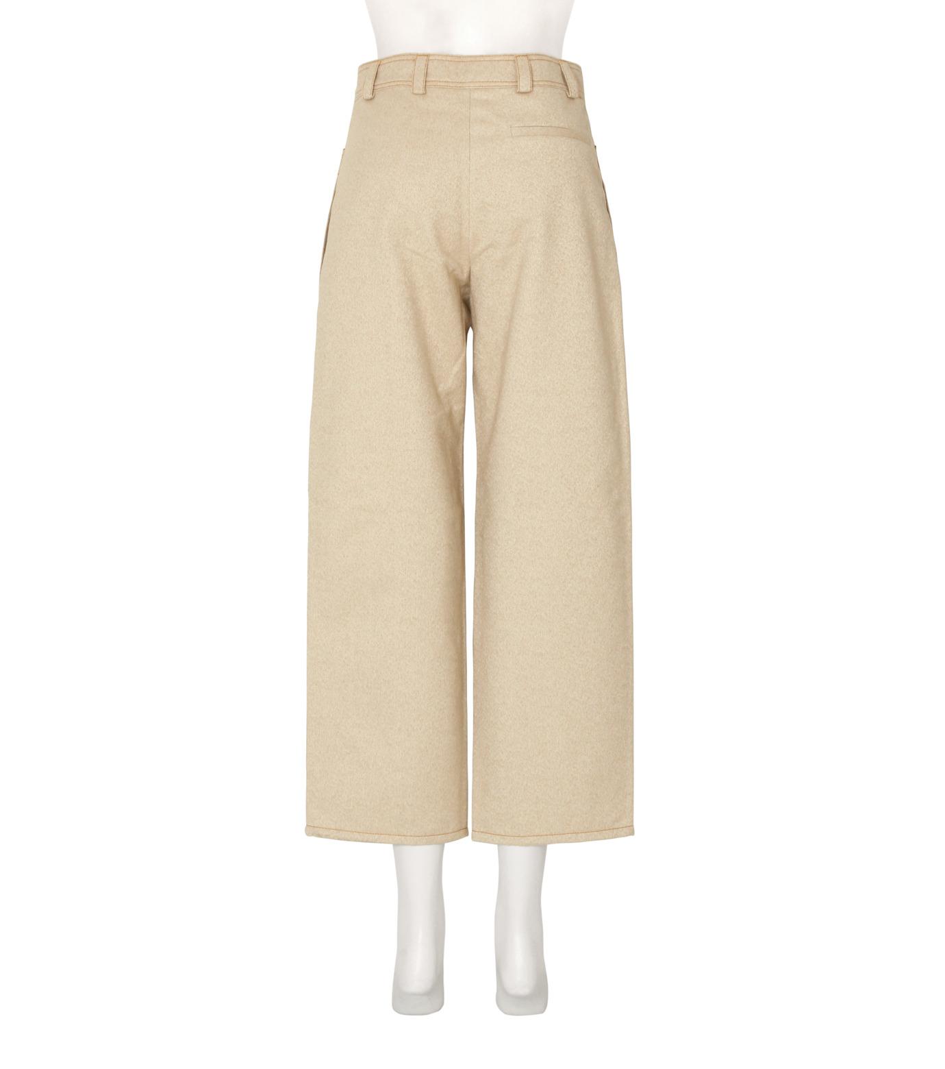 ACNE STUDIOS(アクネ ストゥディオズ)のCargo Pkt Cropped Wide Pants-LIGHT BEIGE(パンツ/pants)-10B163-51 拡大詳細画像2