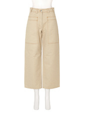 ACNE STUDIOS Cargo Pkt Cropped Wide Pants
