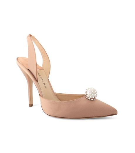 Paul Andrew(ポールアンドリュー)のsling back w/crystal ball-BEIGE(シューズ/shoes)-112923-52 詳細画像1