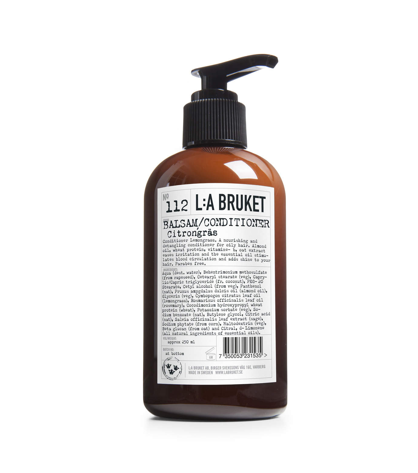 L:A BRUKET(リラ・ブルケット)のRefresh Conditioner-BROWN(HAIR-CARE/HAIR-CARE)-112RFC250-42 拡大詳細画像1
