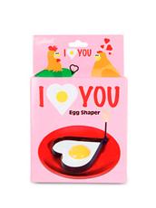 Accoutrements(アクータメンツ) I love you egg shaper
