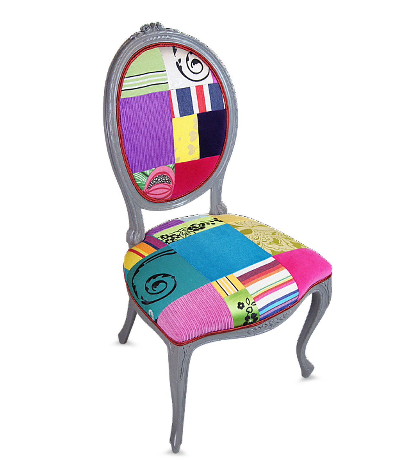 Squintlimited(スクイントリミテッド)のFrench Oval Cabriolet chair-NONE-12-0 拡大詳細画像2
