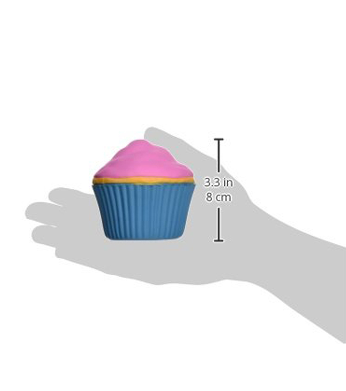 Accoutrements(アクータメンツ)のStress Cupcake-BLUE(アザーズ/others)-12021-92 拡大詳細画像3