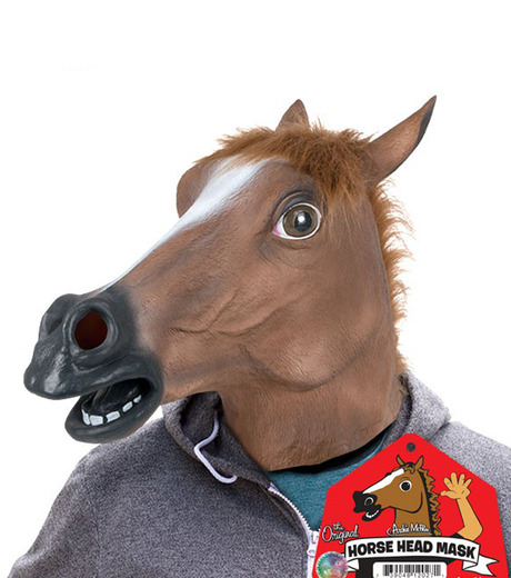 Accoutrements(アクータメンツ)のHorse Head Mask-BROWN(アザーズ/others)-12027-42 詳細画像1