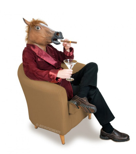 Accoutrements(アクータメンツ)のHorse Head Mask-BROWN(アザーズ/others)-12027-42 詳細画像2